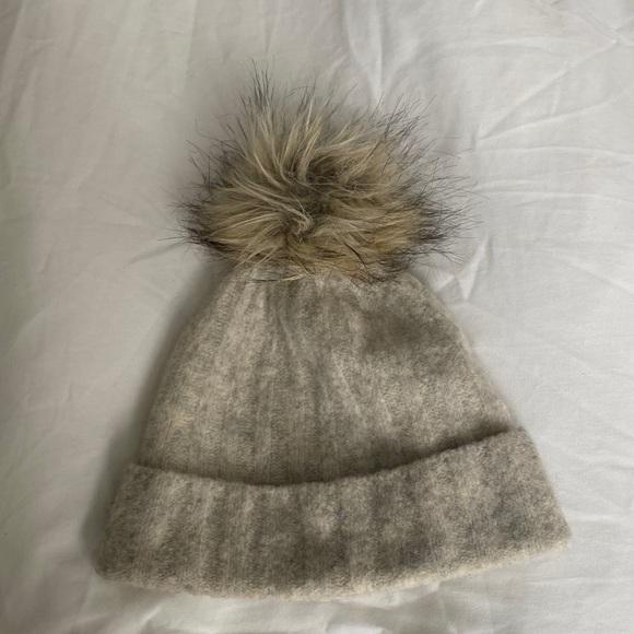 Aritzia pompom hat